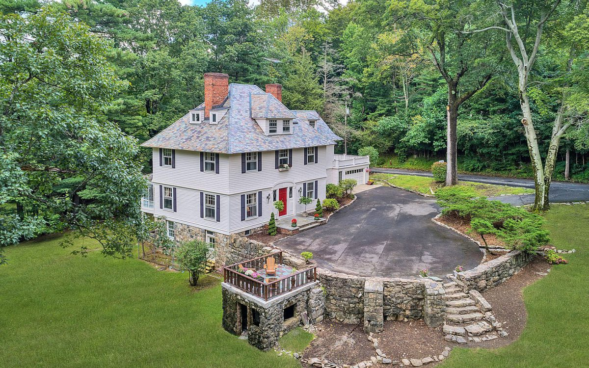 "Classic Tuxedo Park Home: The ""Horace Waldo Cottage"""